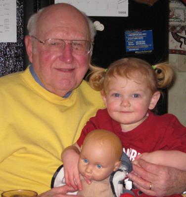 Grandpa and Ava
